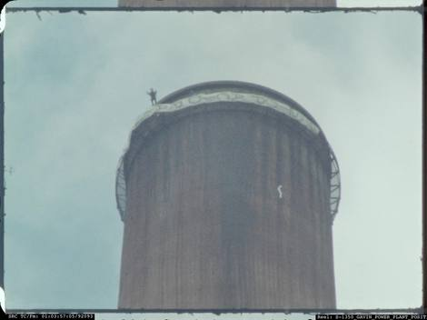 Smoke Stack Jump in Ohio - B-roll (Longer Version)