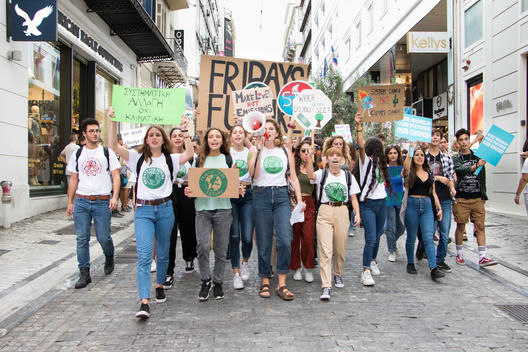 Global Climate Strike March in Greece