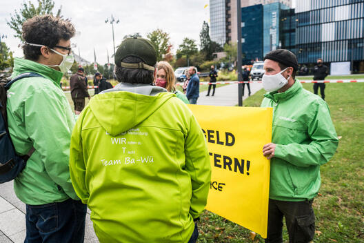Protest Against Agri-Subsidies in Koblenz