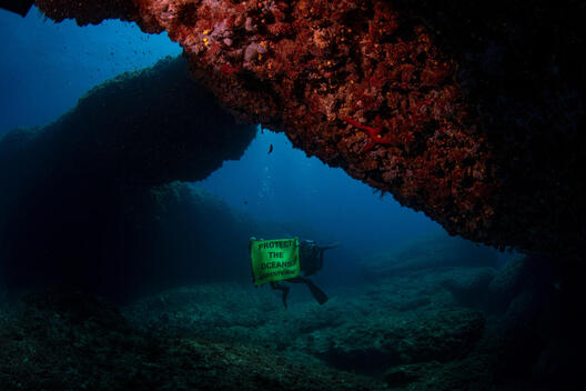 Underwater Sea Temperature Monitoring Station off Siracusa, Sicily