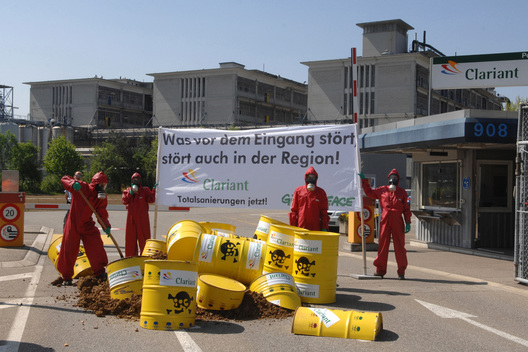 Toxics Action Waste Returned to Sender in Basel Switzerland