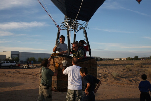 "Hot Air Balloon ""One World"" Inaugural Flight in US"