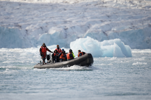 Inflatable in the Arctic