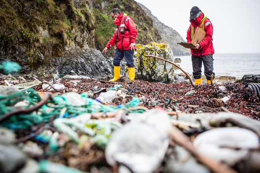 Plastic Waste on Isle of Lewis