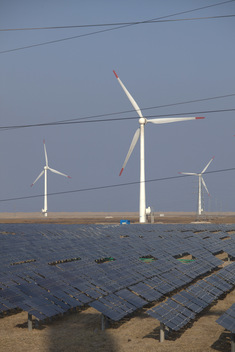 Dafeng Power Station in China