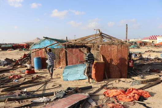 Cyclone Gati Aftermath in Somalia