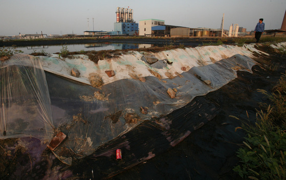 Chemical Plant Wastewater in Shaoxing