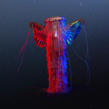 Lion's Mane Jellyfish Costume