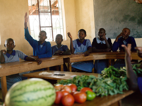 Deaf Pupils Learn about Ecological Farming in Kenya