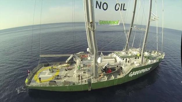 Rainbow Warrior Mediterranean Climate & Energy Tour