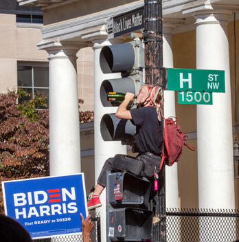 Biden-Harris Election Win Announced - Celebrations in Washington DC