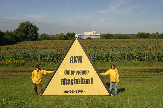 Action against Nuclear Power Plant Unterweser