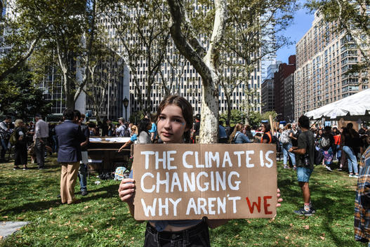 Global Climate Strike in New York