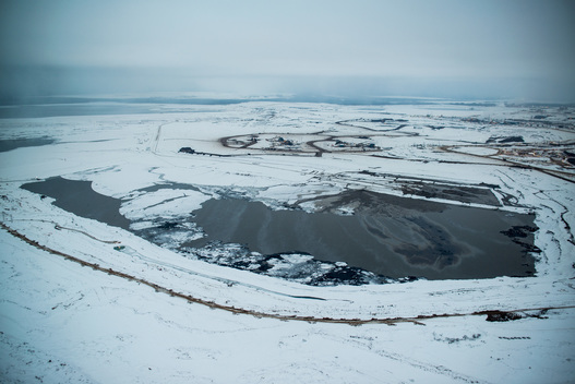 Shell's Jackpine Mine in Alberta Tar Sands