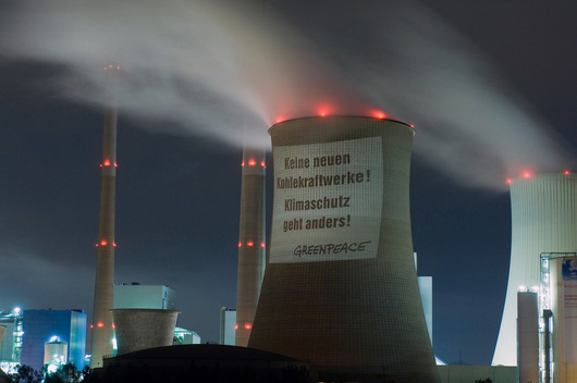 Coal Power Plant Projection in Germany