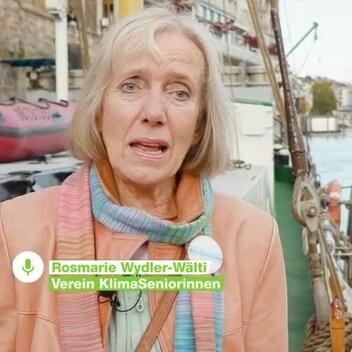 Senior Women for Climate Protection in Basel, Switzerland - WrapUp Video Square (German)