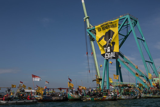Direct Action at Batang Coal Power Plant in Indonesia