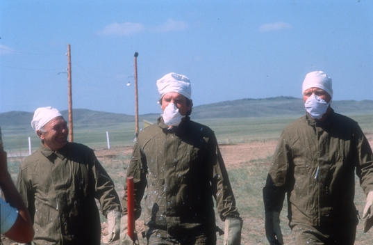 Nuclear Testing Semipalatinsk in Russia