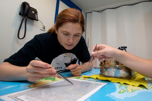 Actress Bonnie Wright Tracking Micro Plastics in the Atlantic Ocean