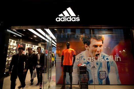 Adidas Store in China