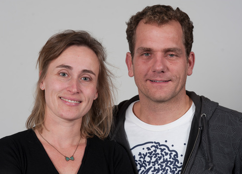 Greenpeace Netherlands Directors Joris Thijssen and Anna Schoemakers