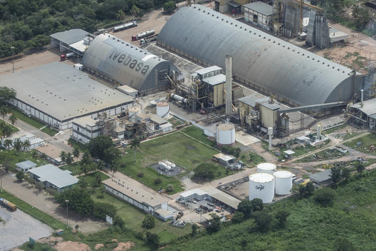 Cargill Soya Processing Center in Barreiras, Bahia State, Brazil