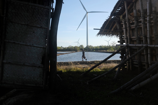 Wind Farm In Guimaras