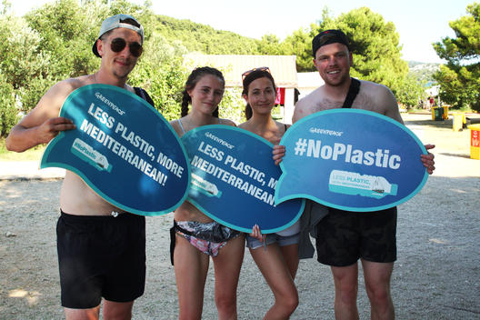 Event Against Plastics Use at Festivals and Concerts in Croatia