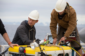Remotely Operated Vehicle Deployment in Svalbard