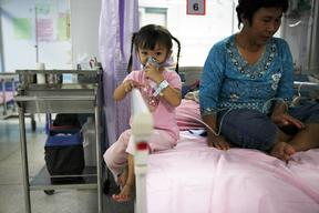 Mae Moh Hospital Patient in Thailand