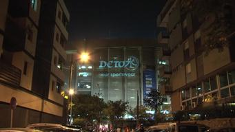 'Detox' Projection at Stadium in Barcelona