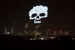 Light Paintings at Dangjin Coal Power Plants in Republic of Korea