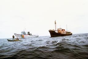 Soviet Whaling Tour in the North Pacific