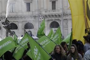 Anti Nuclear Demonstration in Rome