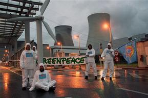 Nuclear Action Doel in Belgium