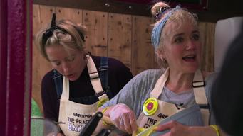Emma and Sophie Thompson in the Frack Free Bake Off in UK - News Access