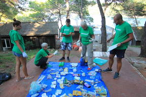 Plastic Clean Up and Brand Audit Activity in Croatia