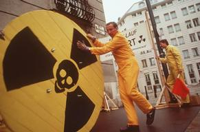 Nuclear Power Plant Mochovce Action in Vienna