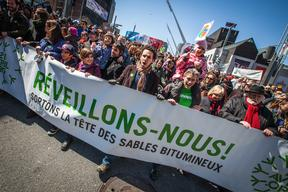 Earth Day 2013 Protest in Montreal