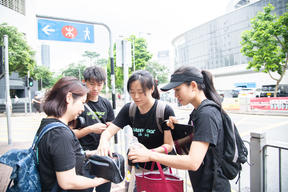First Citizen Science Project on Air Quality in Hong Kong
