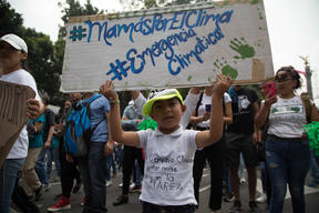 Global Climate Strike March in Mexico