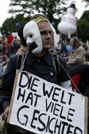 Demonstration at G8 Summit in Germany