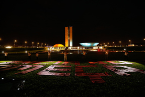 Protest Against Violence in the Field in Brazil