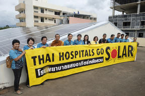 Solar Rooftop at Luang Suan Hospital in Thailand