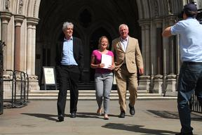 Greenpeace and Nutfa Win Court Case in London