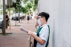 Young Climate Activist Lance Lau in Hong Kong