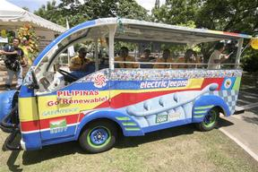 E-jeepney New Route Launch