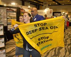 Activists Disrupt Petroleum Summit in Auckland