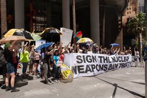 Nuclear Disarmament Protest in Sydney