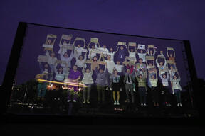 Youth Voices in Holographic Projection at National Assembly in S. Korea